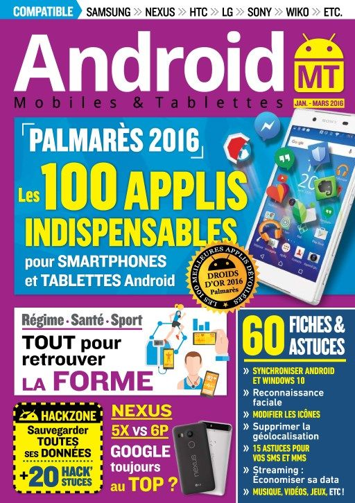 Android Mobiles et Tablettes 32 - Janvier-Mars 2016