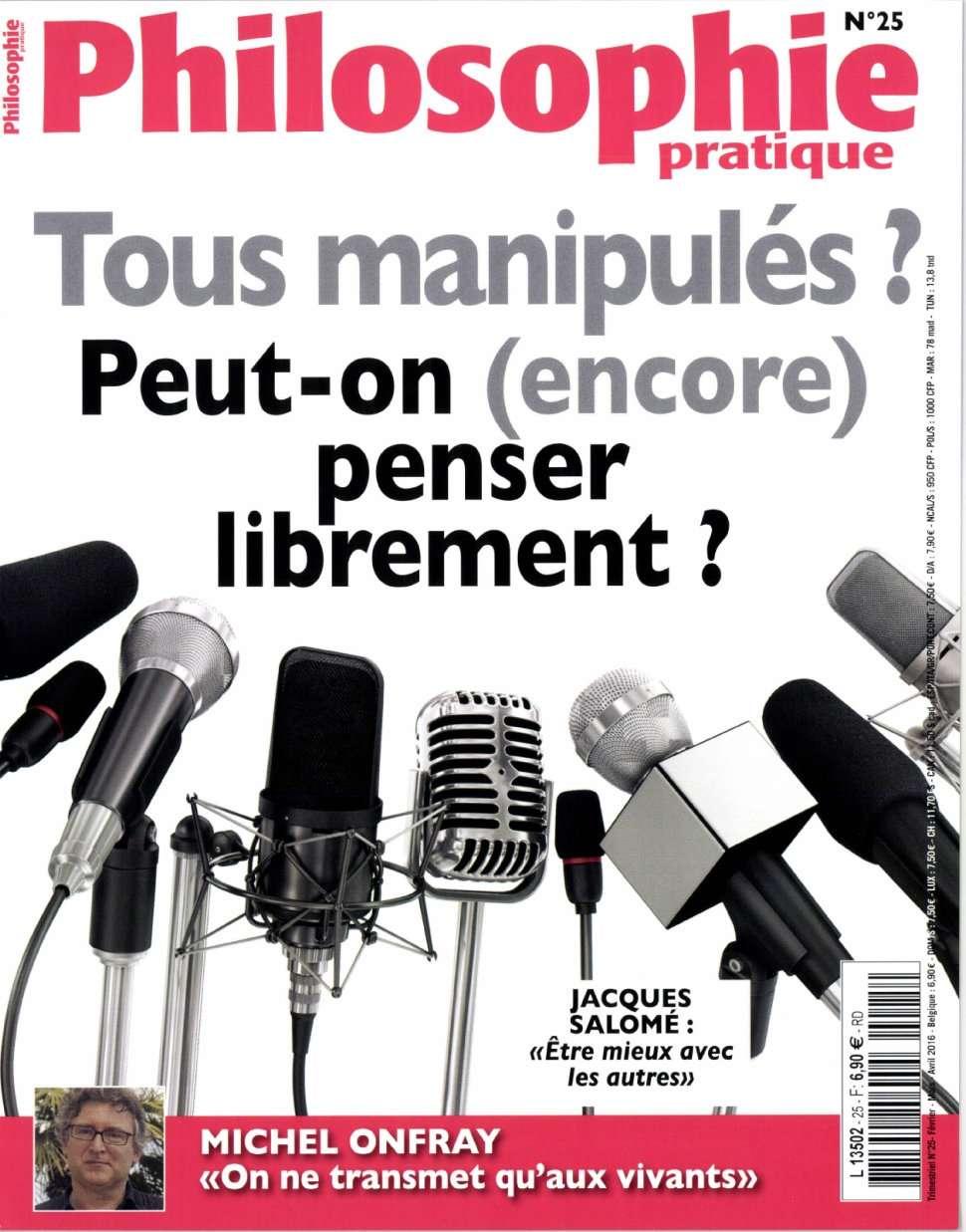 Philosophie Pratique 25 - Février/Mars/Avril 2016