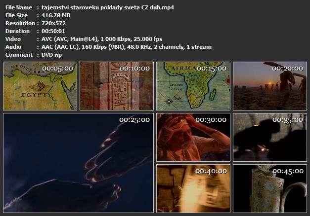 Tajemství starověku Poklady světa / Ancient... (2001)