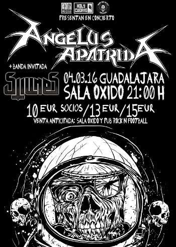 Angelus Apatrida en Guadalajara