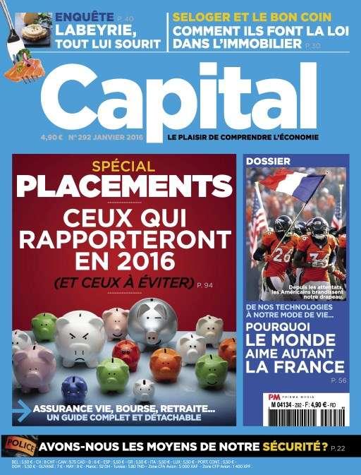 Capital 292 - Janvier 2016