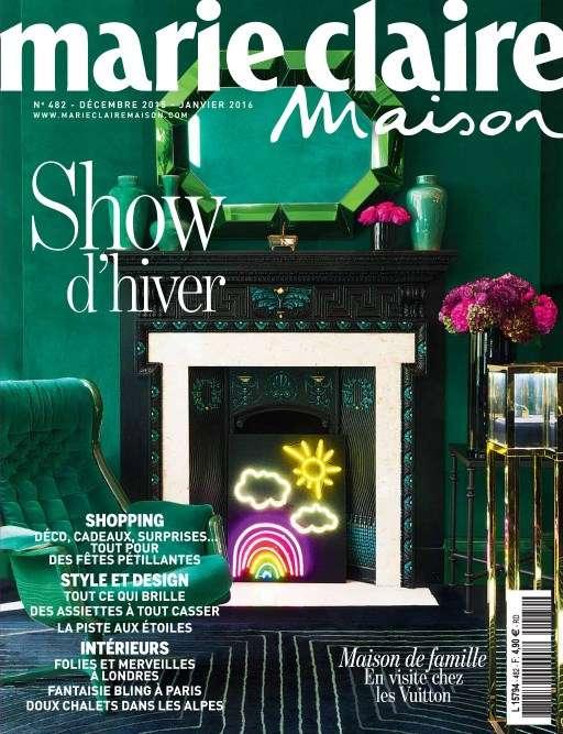 Marie Claire Maison 482 - Décembre 2015 - Janvier 2016
