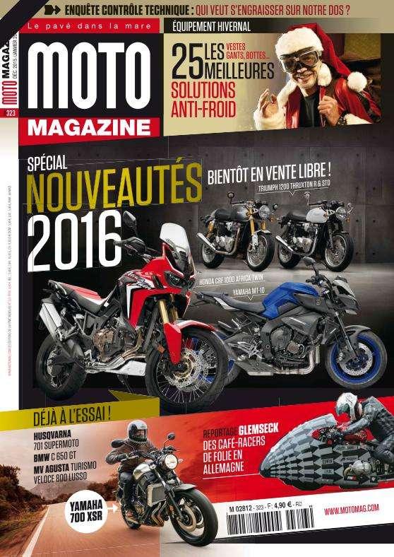 Moto Magazine - Décembre 2015 - Janvier 2016
