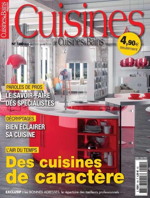 Cuisines & Bains 160 - Décembre 2015 - Janvier 2016
