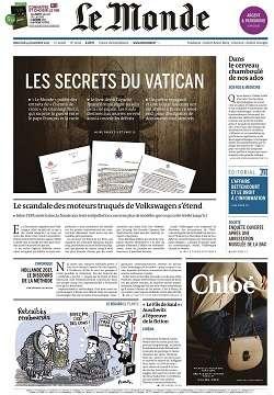Le Monde + 3 suppléments du mercredi 4 novembre 2015