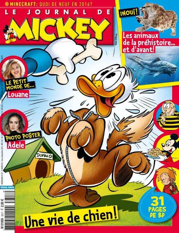 Le Journal de Mickey - 13 au 19 Janvier 2016