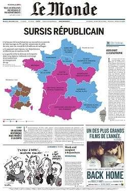 Le Monde et Supplément du Mardi 15 Décembre 2015
