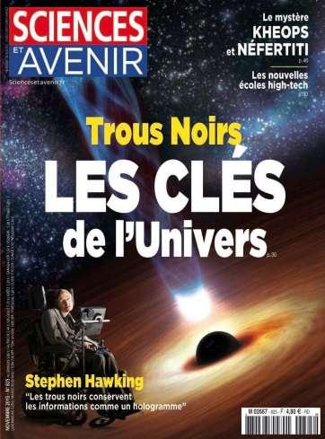 Sciences et Avenir - Novembre 2015