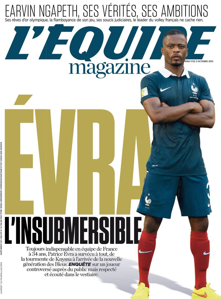 L Equipe Magazine 1733 du Samedi 3 Octobre 2015