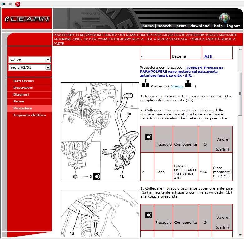 manuale officina alfa romeo 147 workshop manual service. Black Bedroom Furniture Sets. Home Design Ideas