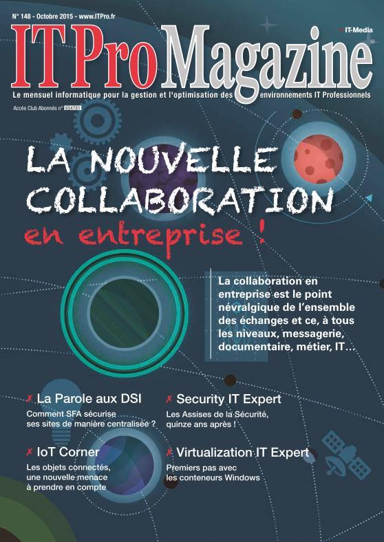 IT Pro Magazine - Octobre 2015