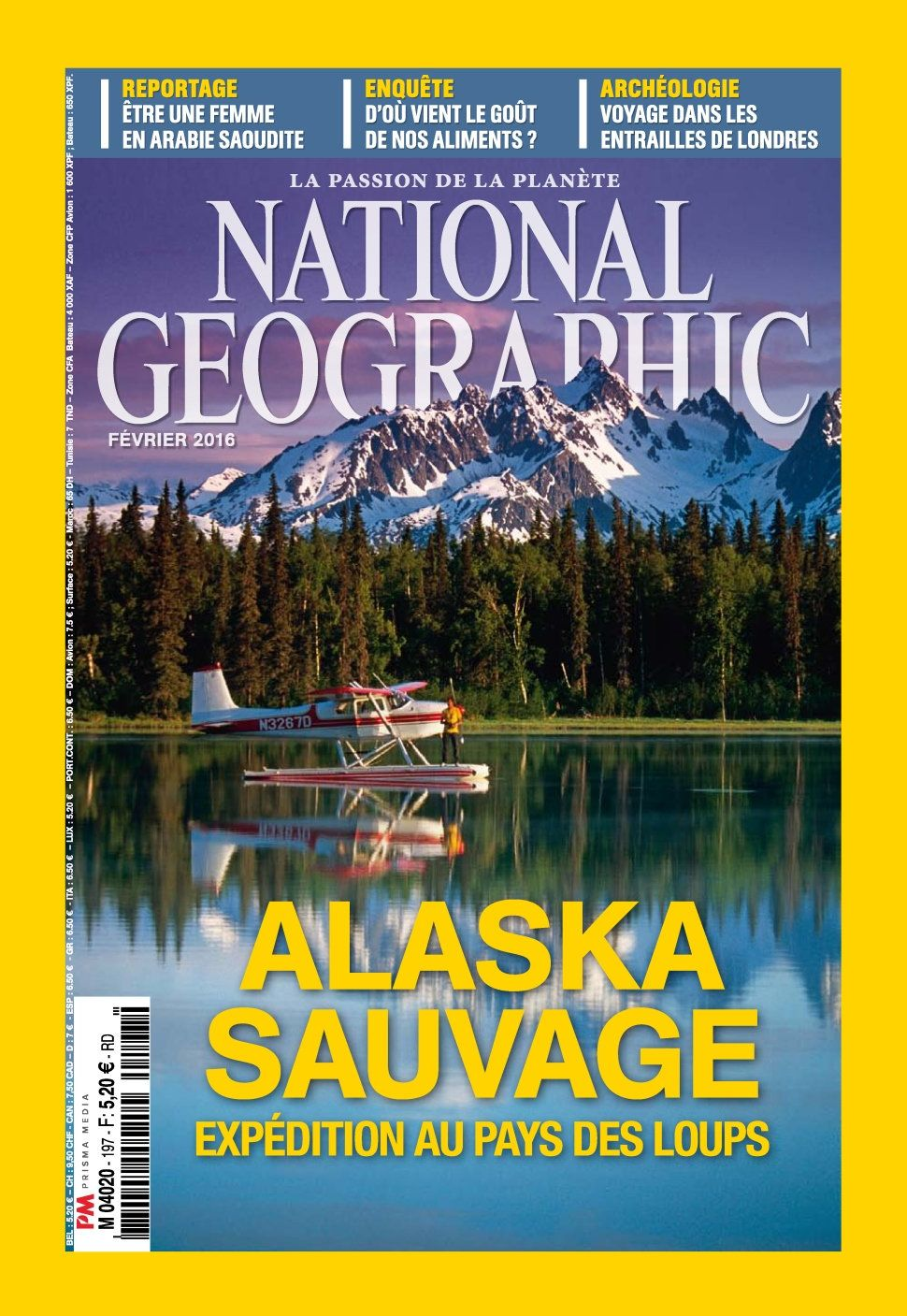 National Geographic 197 - Février 2016
