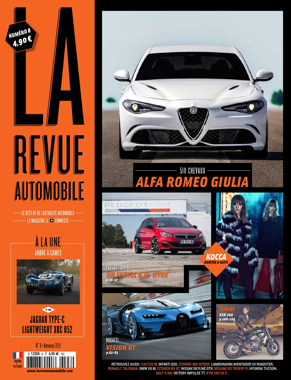 La Revue Automobile 8 - Automne 2015