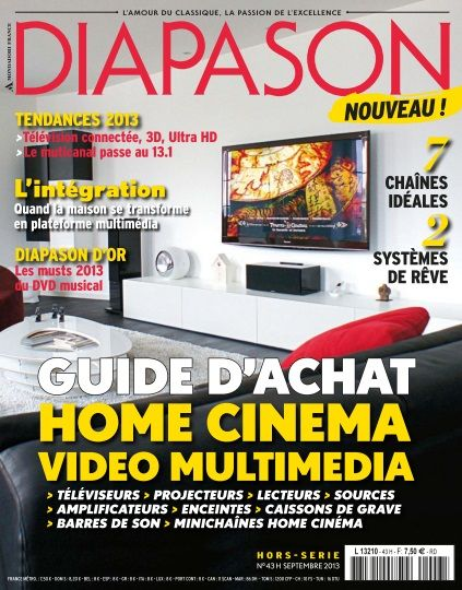 Diapason Hors-Série 43 - Guide d'achat HOME CINEMA