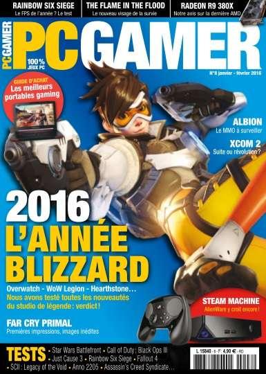 PC Gamer 8 - Janvier-Février 2016