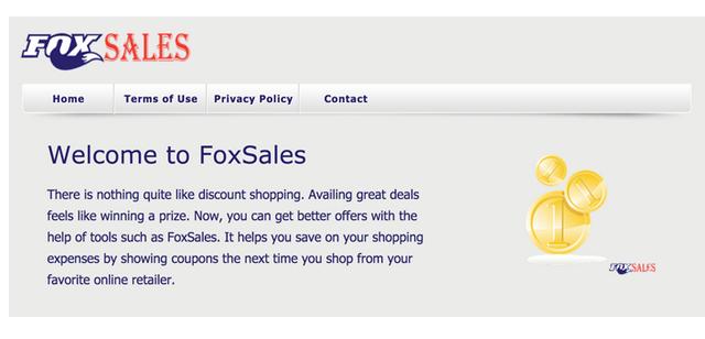 Verwijder FoxSales