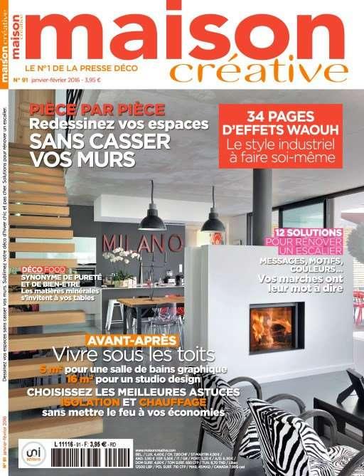 Maison Créative 91 - Janvier-Février 2016