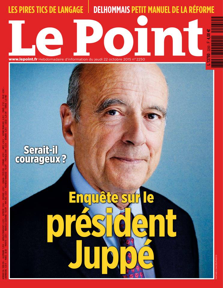 Le Point 2250 - 22 au 28 Octobre 2015