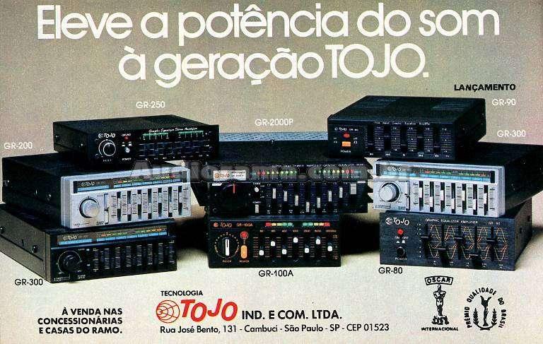 Eleve a potência do som à geração TOJO.