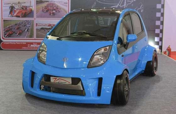 JA Motorsport Tata Super Nano