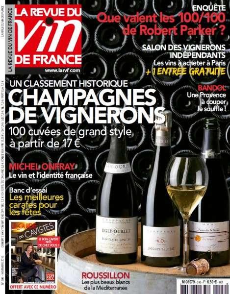 La Revue du Vin de France 596 – Novembre 2015