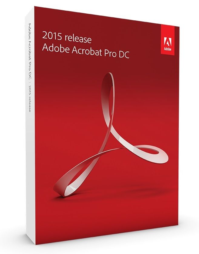 Adobe Acrobat Pro DC v12.2015