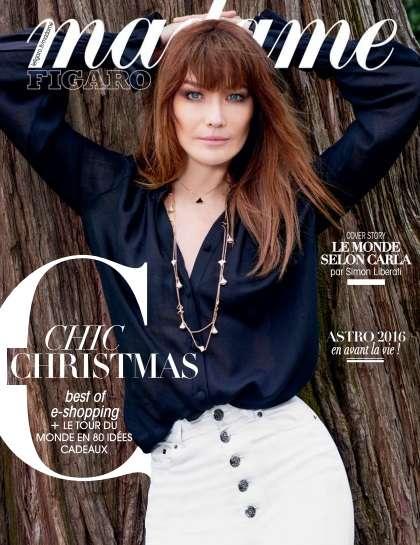 Madame Figaro - 11 Décembre 2015