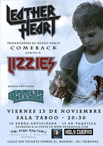 Leather Heart - Madrid