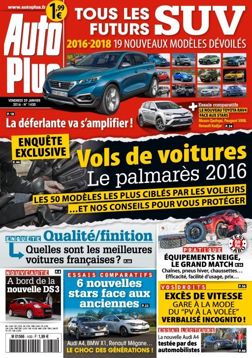 Auto Plus 1430 - 29 Janvier au 4 Février 2016