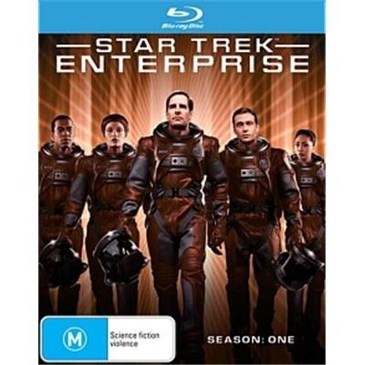 Star Trek: Enterprise - Stagione 1 (2002) 6 Blu Ray Full AVC ITA DD 5.1 ENG DTS-HD MA