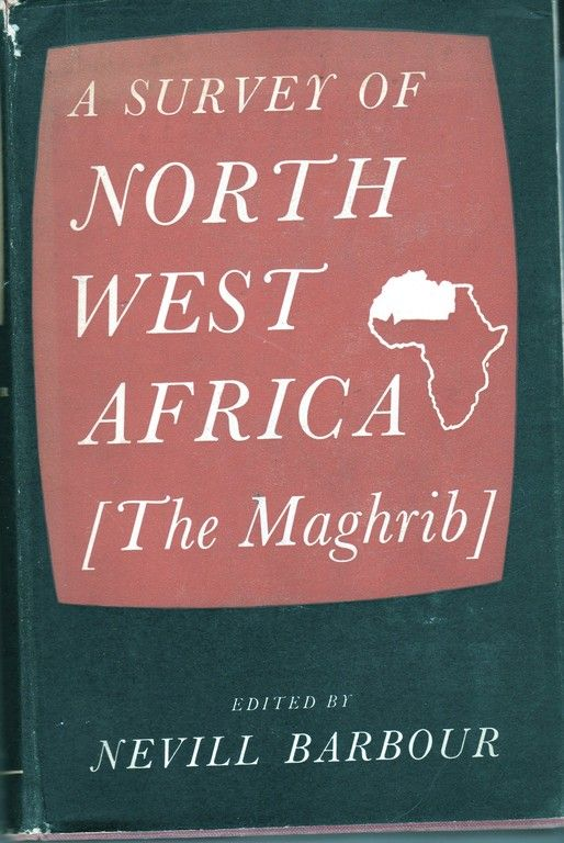 Survey of North West Africa the Maghrib, Barbour, B
