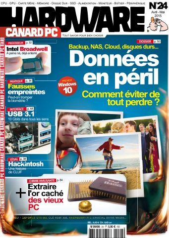 Canard PC Hardware - Avril/Mai 2015