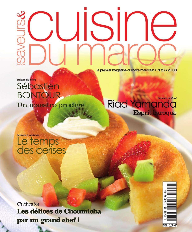 Saveurs & Cuisine du maroc 23 – 2015