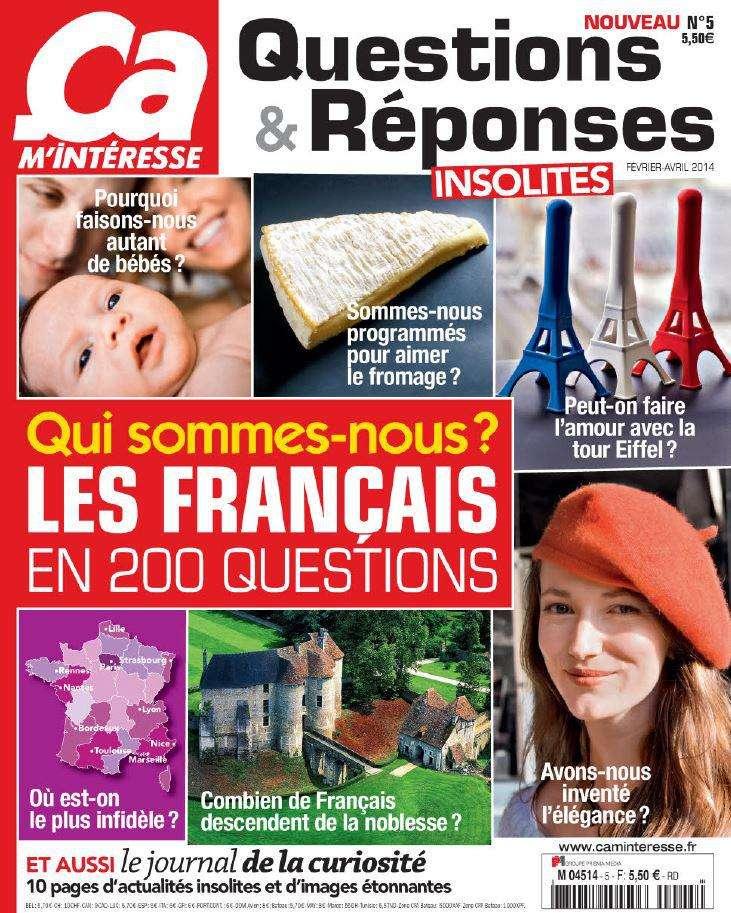 Ça M'intéresse Questions-Réponses 5 - Février-Mars-Avril 2014