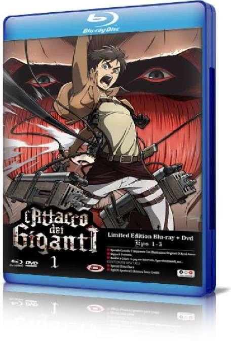 L'Attacco Dei Giganti -Il Film-Parte 1- L'Arco E La Freccia Cremisi (2014) FULL Bluray AVC DTS HD MA DDN