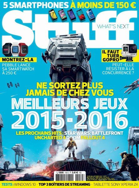 Stuff 159 - Octobre 2015