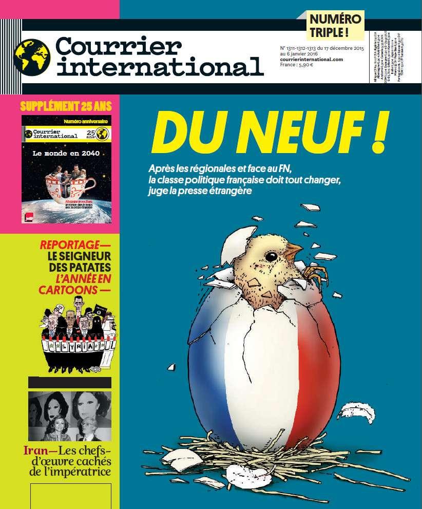 Courrier International 1311-1312-1313 - 17 Décembre 2015 au 6 Janvier 2016