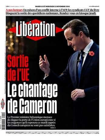 Liberation Du Mardi 10 & Mercredi 11 Novembre 2015
