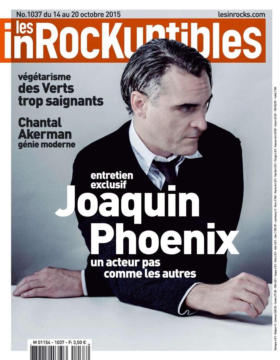 Les Inrockuptibles 1037 - 14 au 20 Octobre 2015