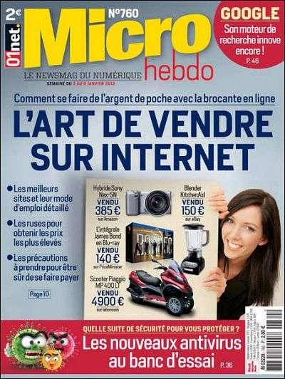 Micro Hebdo 760 - 03 Au 09 Janvier 2013