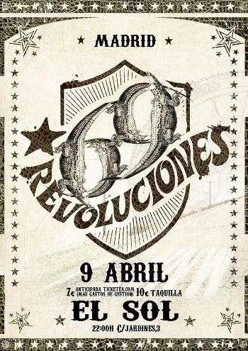 69 revoluciones madrd