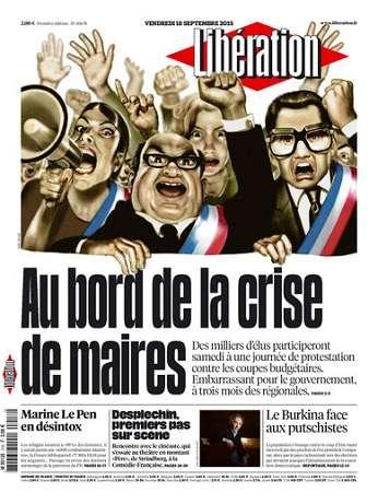 Liberation Du Vendredi 18 Septembre 2015