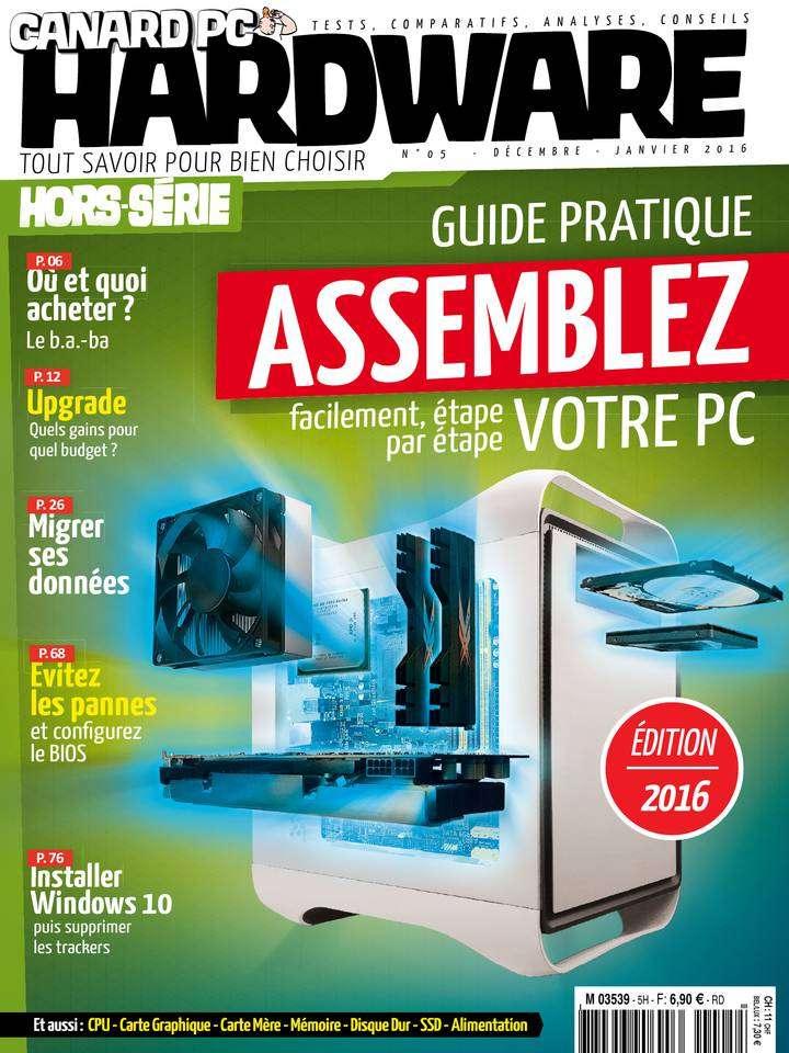 Canard PC Hardware Hors-Série 5 - Décembre 2015-Janvier 2016