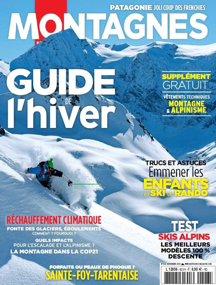 Montagnes Magazine 423 - Novembre 2015