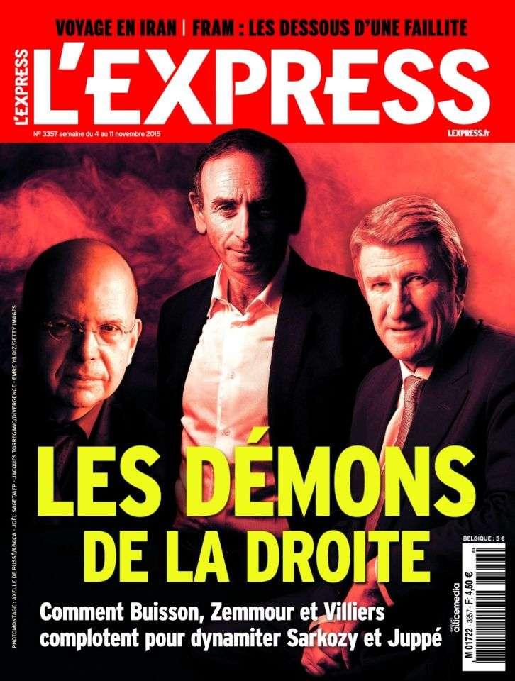 L'Express 3357 - 4 au 11 Novembre 2015