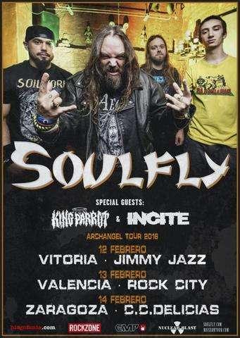 Soulfly gira cartel