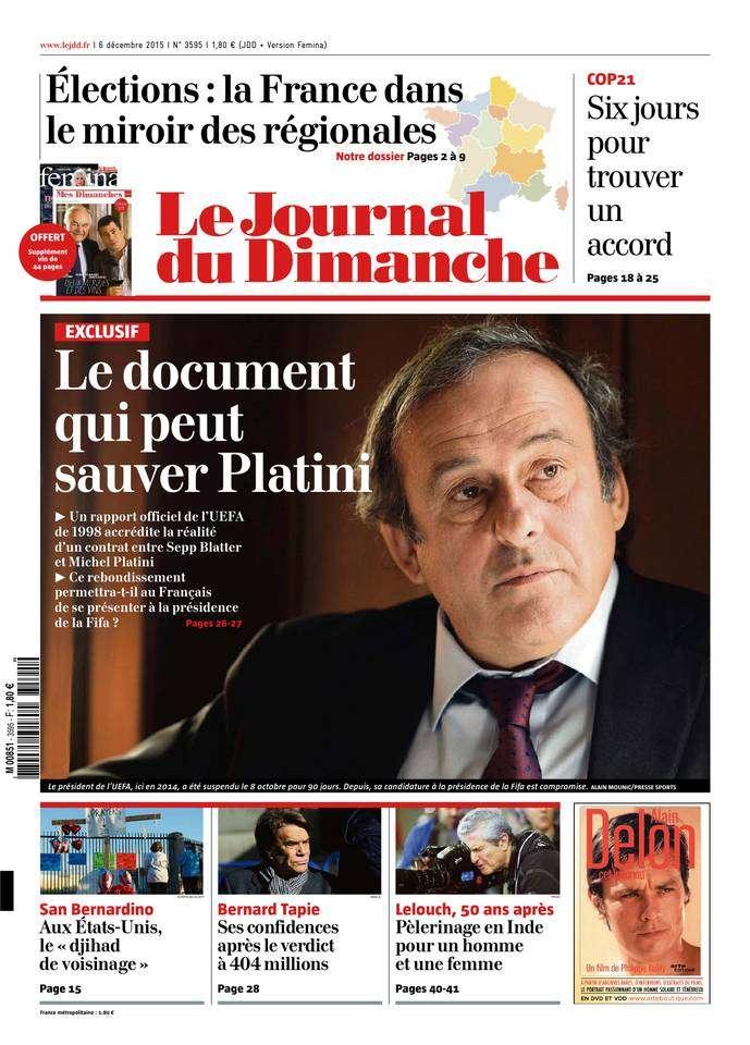 Le Journal du Dimanche - 6 Décembre 2015