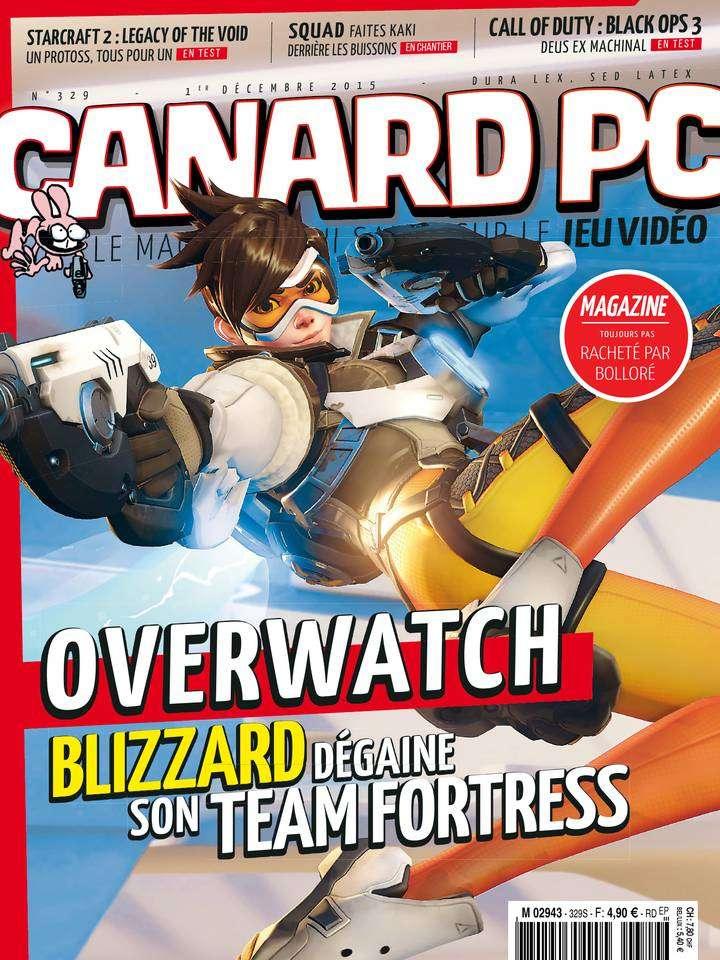 Canard PC 329 - 1er Décembre 2015