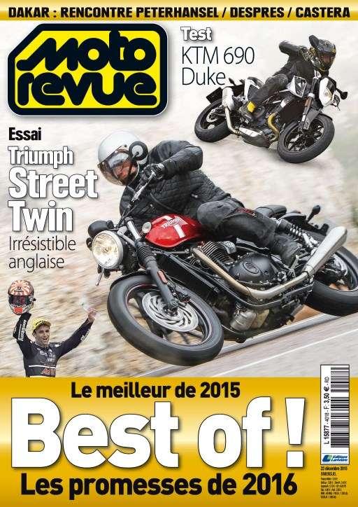 Moto Revue 4018 - 23 Décembre 2015 au 6 Janvier 2016