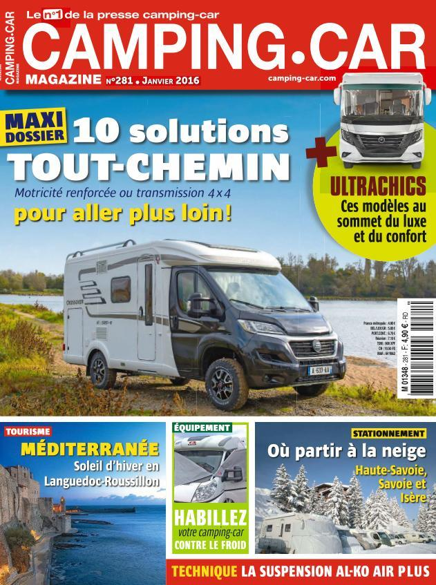 Camping-car Magazine 281 - Janvier 2016
